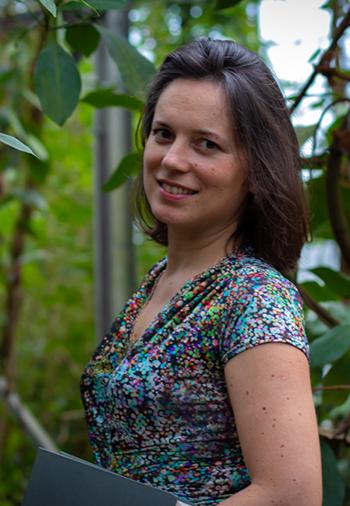 Portrait of Anna Molnár